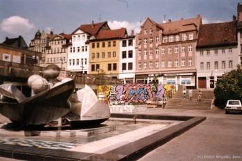 Jena 1989 - Platz der Kosmonauten