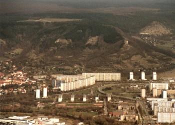 Luftbild von Jena-Lobda (Ost)