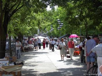 Flohmarkt in der Altstadt