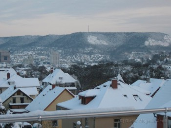 Winterbeginn in Jena
