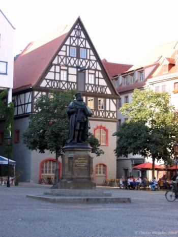 Der Marktplatz im Stadtzentrum
