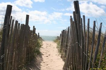 Access au plage